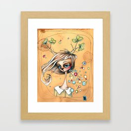 annika Framed Art Print