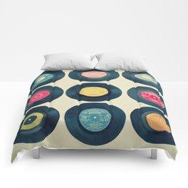 Vinyl Collection Comforters