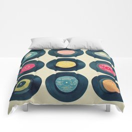 Vinyl Collection Comforters