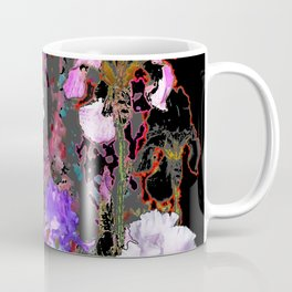 Southwest-western Style PURPLE IRIS GARDEN Coffee Mug