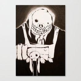 Choppy Canvas Print