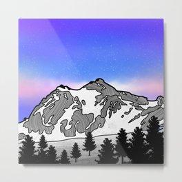 Mount Baker Metal Print
