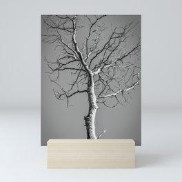 Bare Tree in the sky Mini Art Print