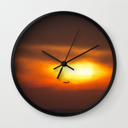Into the Sunset. Wall Clock