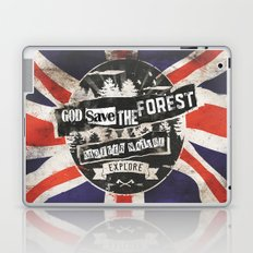 God save the forest Laptop & iPad Skin