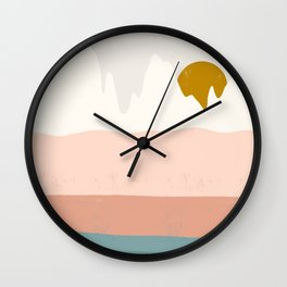 desert shades Wall Clock