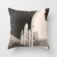 architecture Throw Pillows featuring architecture by Armine Nersisian