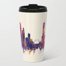 Chicago Illinois Skyline Travel Mug