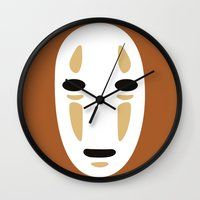 spirited away Wall Clocks featuring Spirited Away by FilmsQuiz