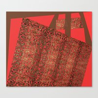 tote Canvas Prints featuring Tote by Jose Luis