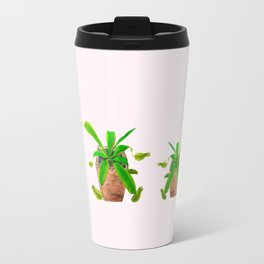 tropical pitcher plant watercolor painting Travel Mug