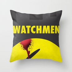 Watchmen Throw Pillow