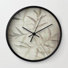 Satin night Wall Clock
