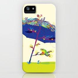 Summer Nap iPhone Case