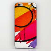 clown iPhone & iPod Skins featuring Clown by Alexandre Reis