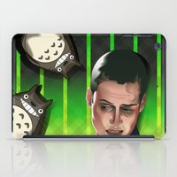 ripley iPad Cases featuring In space no one can hear you scream by milanova