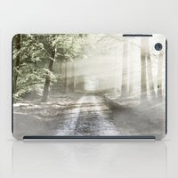 pixies iPad Cases featuring Fairytale Forest by Helmar Designs