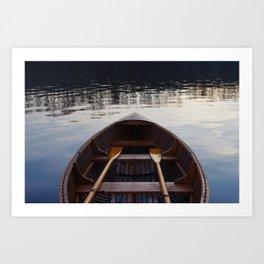 No where to row Art Print