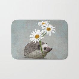 Hedgehog in love Bath Mat