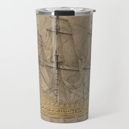 Ship by 'Abd al-Qadir Hisari, 1776 Travel Mug