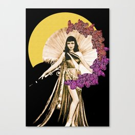 Moon Goddess - Light Canvas Print