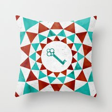 Phantom Keys Series - 01 Throw Pillow