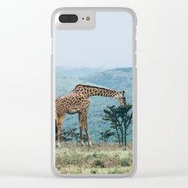 Ngorongoro Crater, Tanzania V Clear iPhone Case