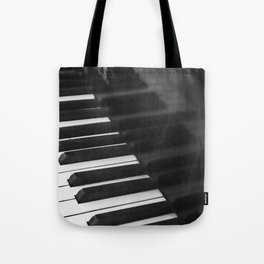 Old grand piano Tote Bag