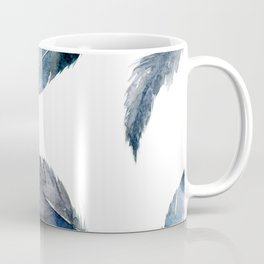 Midnight Feather Coffee Mug