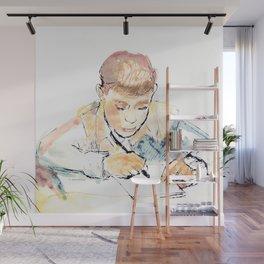 School-boy Wall Mural
