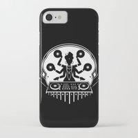 shiva iPhone & iPod Cases featuring Disco Shiva by starplexus