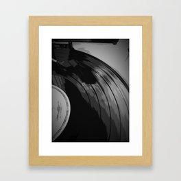 Vinyl 3 Framed Art Print