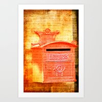 Please Mr Postman Art Print