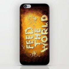 Feed The World iPhone & iPod Skin