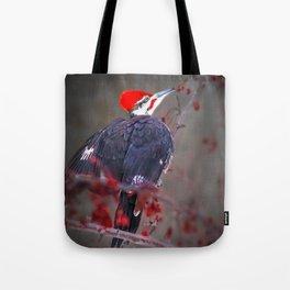 January Pileated Tote Bag