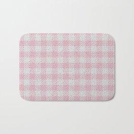 Light Pink Buffalo Plaid Bath Mat