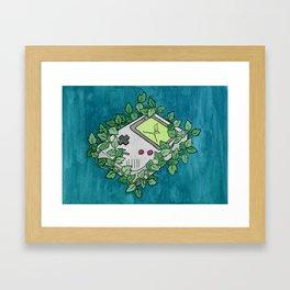 Gameboy Growth Framed Art Print