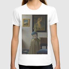 "Johannes Vermeer ""Lady Standing at a Virginal"" T-shirt"