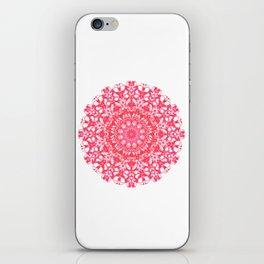 Mandala 12 / 5 eden spirit ruby red iPhone Skin