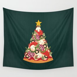 PIZZA ON EARTH Wall Tapestry