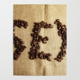 SEX - Coffee beans Poster