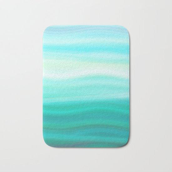 Green Mirage Bath Mat