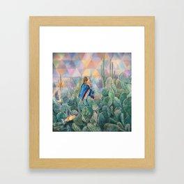Cactus Land Framed Art Print