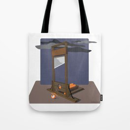 guillotined glance Tote Bag