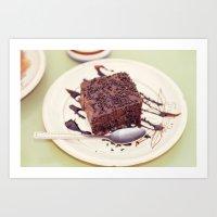 dessert Art Prints featuring dessert by iokk