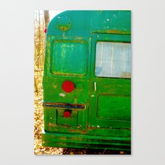 The Bus back end mystery..... Canvas Print