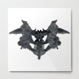 What do you see? Metal Print