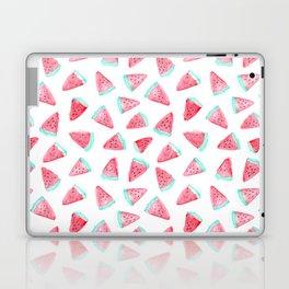 Watermelon watercolor pattern Laptop & iPad Skin