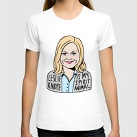 leslie knope T-shirts featuring Leslie Knope is my spirit animal by kate gabrielle