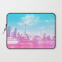 Vibrant Toronto Laptop Sleeve